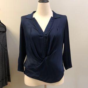 Elieta Hari Navy blouse